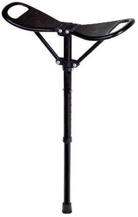 Sede estable de bastón fácilmente metal sillín sede tranquilidad sede telescópicos faltstock
