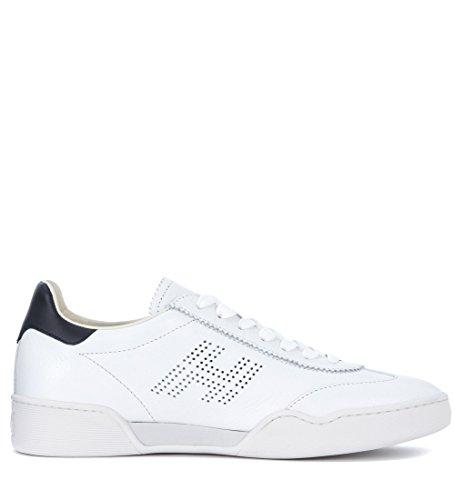 Hvide Hogan Sneaker H357 I Læder Og Sort gxVcT36xT