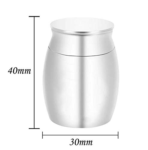Nothers Small Metal Ashes Keepsake Urns, Mini Urns for Human Ashes, Pet Ashes Keepsake Box
