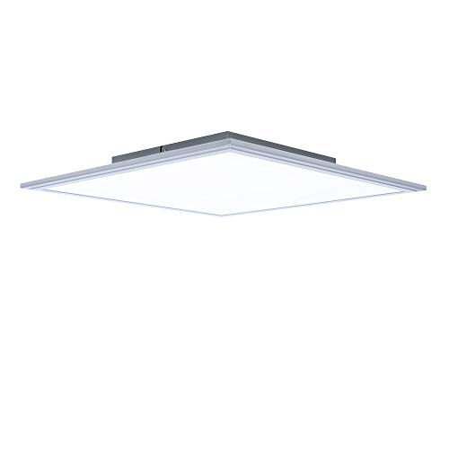 Panel LED 25W Blanco Gris 45x45cm Lámpara de Techo 4000k ...