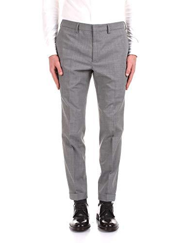 Incotex Dress Pants - Incotex Men's Zr850z9169w920 Grey Wool Pants