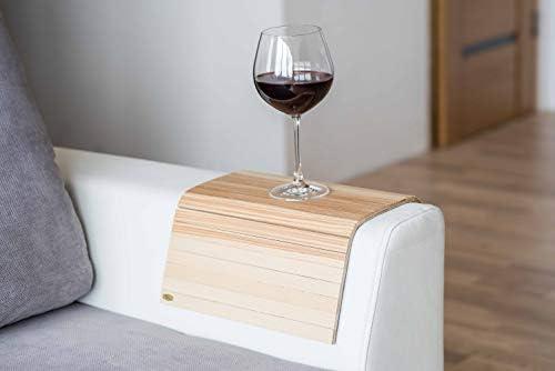 Compra Bandeja de brazo de madera para sofá o sofá, con ...