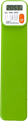 Mark-My-Time Digital Bookmark - Green from Mark-My-Time