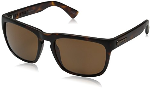 Electric Visual Knoxville Matte Tortoise/OHM Polarized Bronze - Electric Polarized Sunglasses