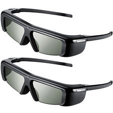 Samsung SSG-3100GB 3D Active Glasses - Black (Only Compatible with 2011 3D TVs) (Pack of 2) by Samsung