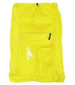 Speedo Deluxe Ventilator Mesh Bag Yellow 1sz