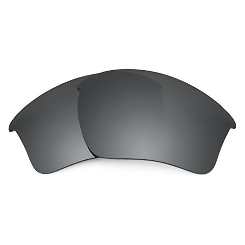 (Revant Polarized Replacement Lenses for Oakley Half Jacket 2.0 XL Black Chrome MirrorShield)