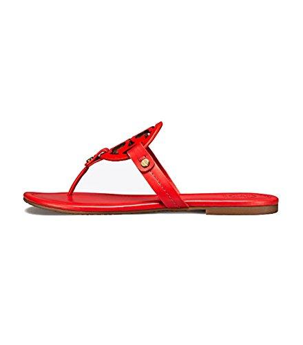 801e8c48c491 Galleon - Tory Burch Women s Vachetta Leather Flat Thong Sandals - Miller  (11