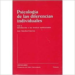 Psicología de las diferencias individuales Vol. 2: Amazon.es ...
