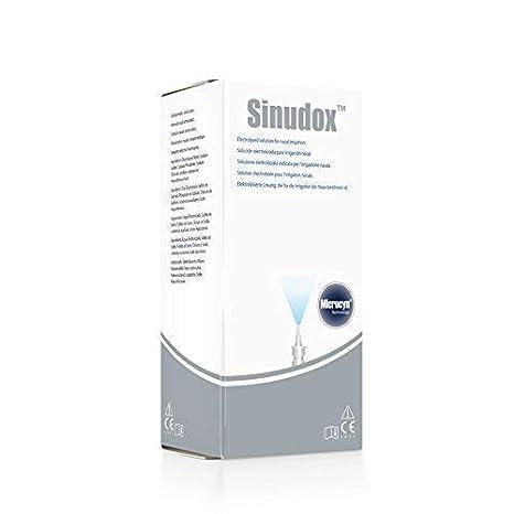 Sinudox - Aerosol Nasal para el cuidado nasal - Contra la congestión nasal y la sinusitis, reduce el dolor.: Amazon.es: Belleza