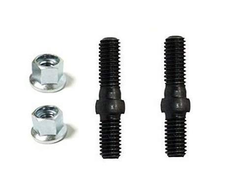 OEM Genuine Echo V224000031 / 43301903933 Bolts and Nuts (Each of 2 Pieces) Chainsaw Guide Bar Studs Bolts + (Free Two e-Books) ()