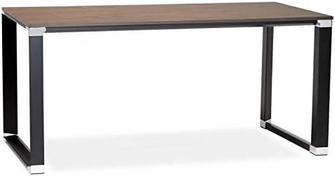 Paris Prix – Escritorio Design OPI 160 cm Nogal & Negro: Amazon.es ...