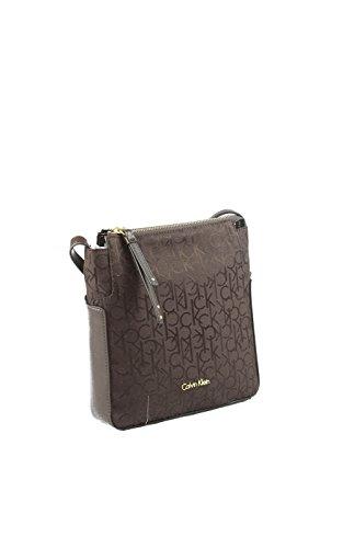 225 Moro K60K602236 Calvin Klein borsa Marrone marrone Testa di xfUCw8q