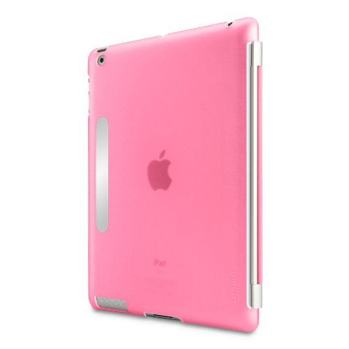 Belkin Snap Shield Case Secure for the Apple iPad 3 (3rd Generation) (Pink)