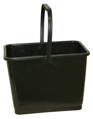 Hopkins 864 Mallory Bucket with Handle, 2 Gallon Capacity, Black