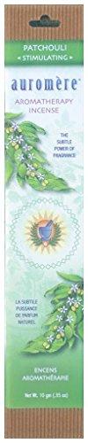 Auromere Aromatherapy Incense, Patchouli (Stimulating)