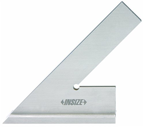 INSIZE 4747-150 45 Degree Square with Wide Base, 5.9'' x 3.9''