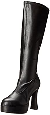 Ellie Shoes Women's Chacha Boot, Black Matte, 6 M US