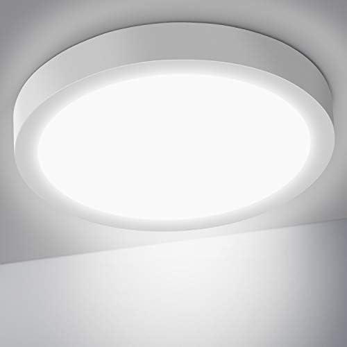 chollos oferta descuentos barato OUSFOT Lámpara de Techo Plafón LED Techo 24W 6000K 2200LM Moderna Luz LED para Cocina Sala de Estar Dormitorio Pasillo Comedor
