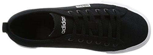 adidas Neosole W, Zapatilla de Deporte Baja del Cuello para Mujer, Negro (Negbas/Ftwbla/Negbas), 40 EU