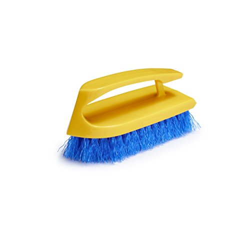 Rubbermaid Commercial Iron Handle Scrub Brush, 6 Inch, FG648200COBLT