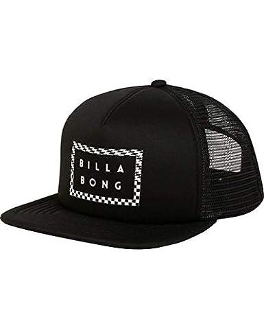 728e6a52c9024 Amazon.com  Billabong Men s Upgrade Trucker Hat Black One Size  Clothing
