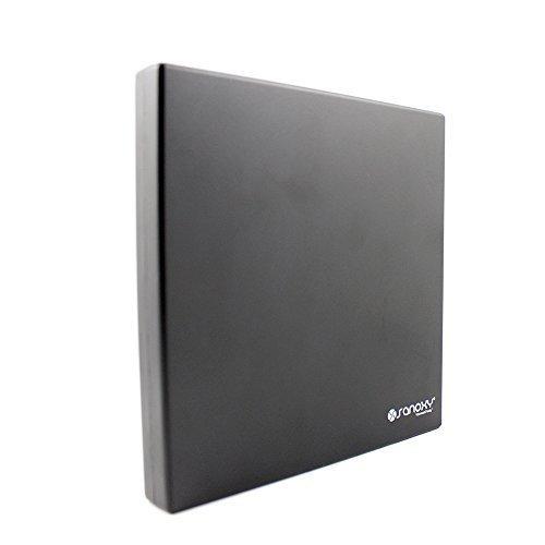 SANOXY_EXT-dvdcom1 Portable USB 2.0 Slim External ROM CD-RW Combo Drive Writer, Black