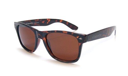 Coyote Eyewear P-23 Polarized Wayfarer Style Sunglasses, - Coyote Sunglasses