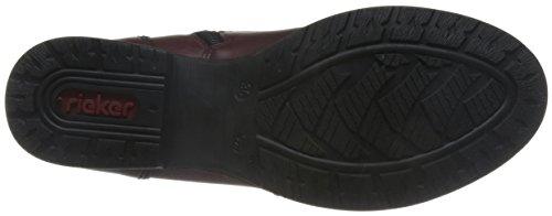 Desert Boots bordeaux Donne Rossi Delle Z9510 Rieker qwOOPt