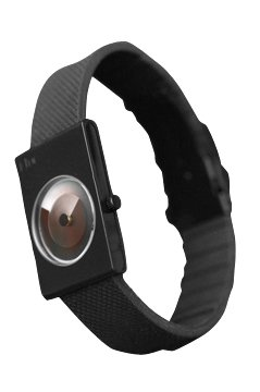 I-toc Watch - Black - Museum Modern Art Design with Blackout Case and (Museum Dial Womens Watch)