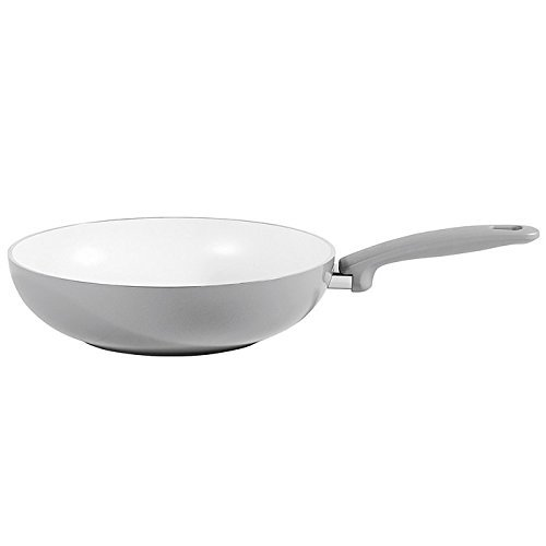 GREENPAN CERAMIC WOK 28CM Kadhai & Woks at amazon
