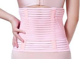 22c7bfb17f6 Image Unavailable. Image not available for. Colour  Saj Women s Postpartum  Corset Belt Waist Support Trimmer Belt Body Shaper ...
