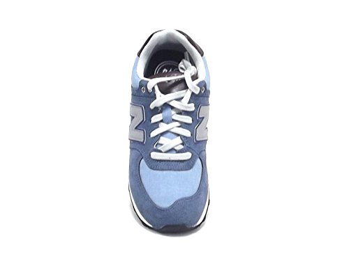 New Balance , Baskets pour garçon Bleu Azzurro