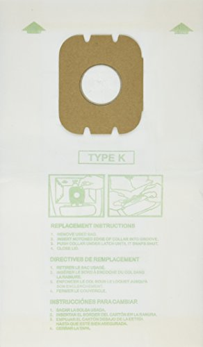 Hoover Paper Bag, Type K Canister Spirit (Pack of 3) ()