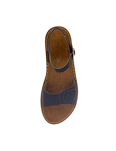 NIKKI ME Women's Comfort Sandals Black EWbWPFU