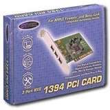 Dynex - 3-Port FireWire/IEEE 1394 PCI Card