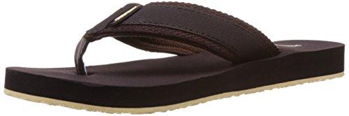 High Sierra Men's Brown Flip-Flops and House Slippers - 9 UK