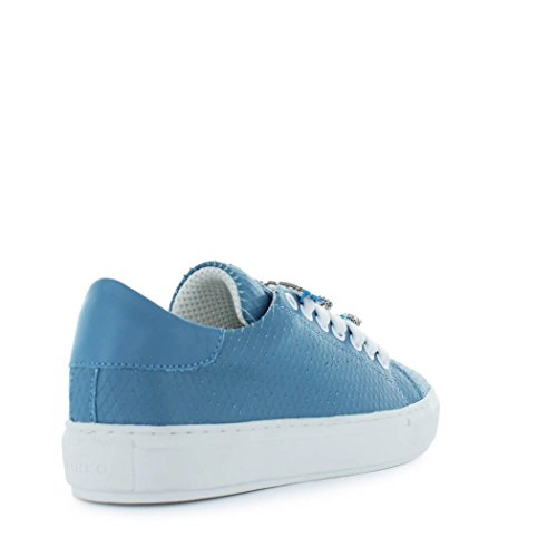 Allegra da donna Pinko Leather Spring Sneakers Blue Summer Scarpe 2018 R14wwqI