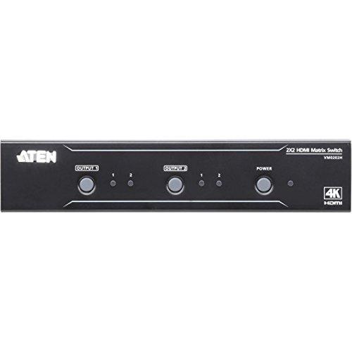 ATEN Technology VM0202H 2x2 4K HDMI Matrix Switch from ATEN