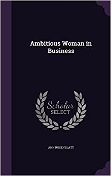 Book Ambitious Woman in Business