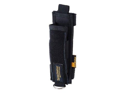 Portable Nylon Flashlight & Stun Baton Bag Pouch (Black)