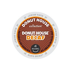 Donut House Collection Donut House Decaf Coffee Keurig Single-Serve K-Cup Pods, - Decaf K Coffee Cup