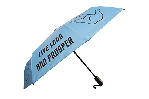 Official Star Trek Live Long and Prosper Folding Umbrella Merchandise - LOVARZI
