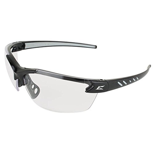 Edge Eyewear DZ111-2.5 Zorge Magnifier with Black with Clear Lens 2.5 Magnification ()