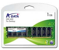 DDR Memory Module ADATA 1GB PC-3200 DDR Memory Module
