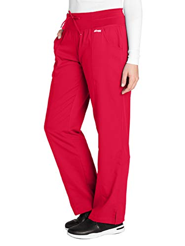 Grey's Anatomy Active 4276 Yoga Pant Scarlet Red - Scarlet Pants