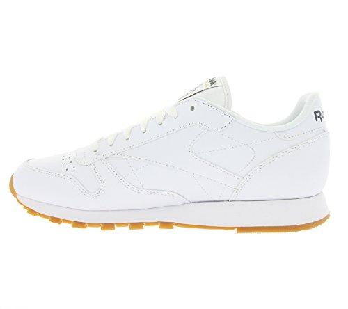 Bambino Scarpe Bianco Reebok Classic Leather Ginnastica Da YnWXEwW