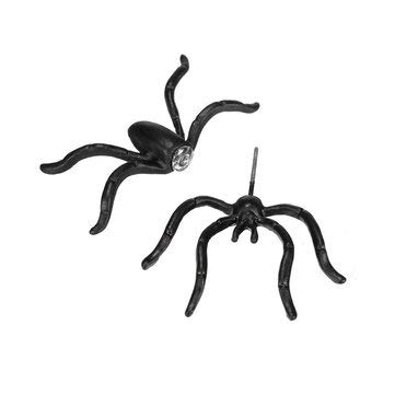 1pc Punk Alloy Black Spider Stud Earring Women Jewelry Earrings Ear Stud