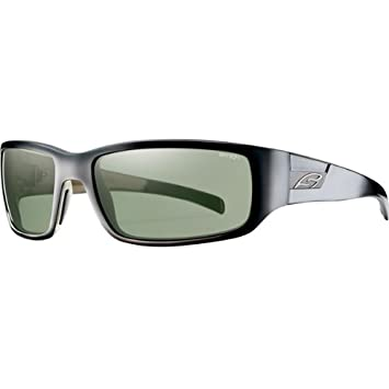 Smith Optics perspectiva de al aire libre gafas de sol polarizadas, color negro/gris/61 - 19 - 125: Amazon.es: Coche y moto