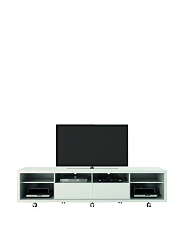 TV Stands in White Gloss